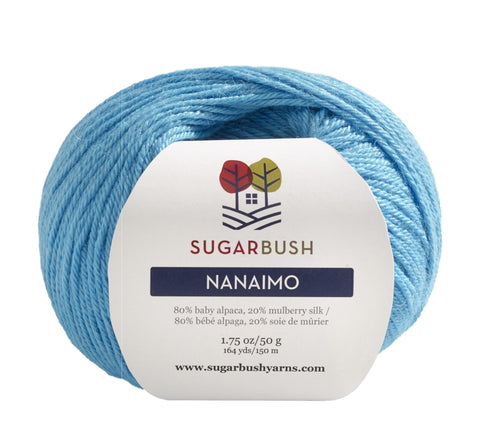 Yarn - Sugarbush Nanaimo -  Baby Alpaca/Mulberry Silk
