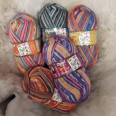 Yarn - Opal Butterfly (Summer)  Collection Sock Yarn