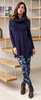 Tunic V-Neck with Scarf - Ladies