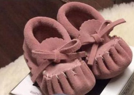 Baby-Moccasin Suede