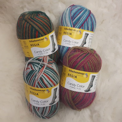 Yarn - Regia Candy Colour / Design Line
