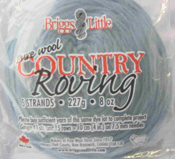 Rovings - Briggs & Little Country Roving - Canadian Wool