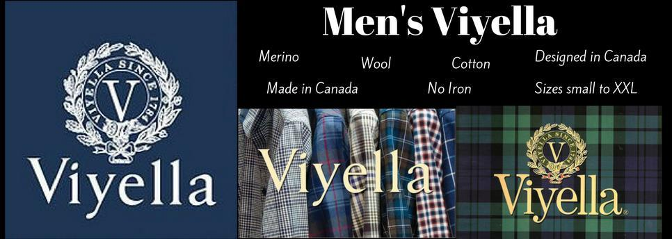 Men's Viyella shirts and sweaters