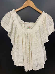 Free People Short Sleeve Top Size Large