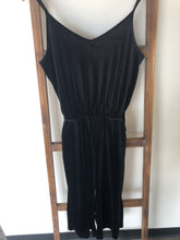 Load image into Gallery viewer, Old Navy Black Velvet Romper Size XSmall