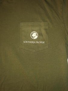 Southern Proper Long Sleeve T-shirt Size Medium NWT