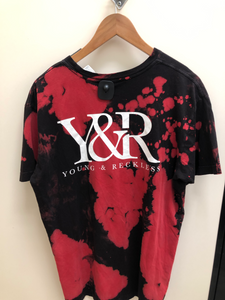 Young & Reckless T-shirt Size Large