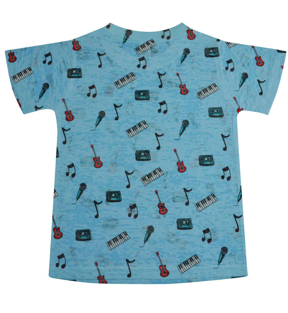 Band Instruments Tee - Stella Blu Clothing