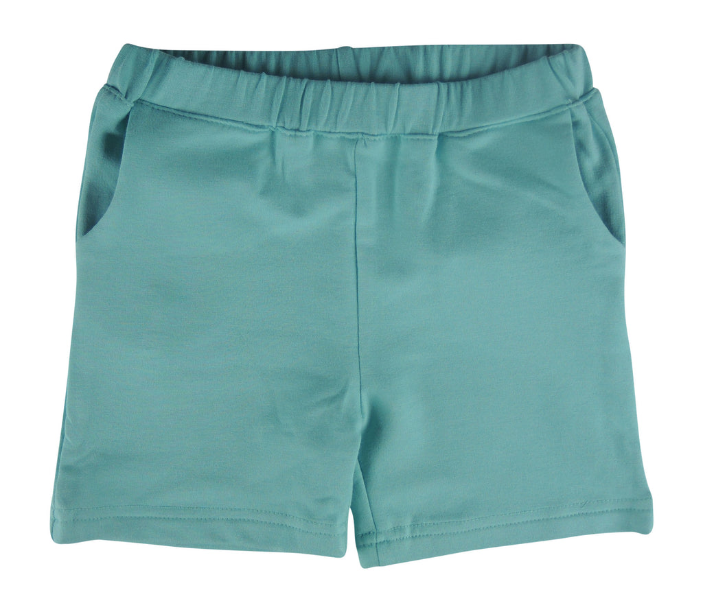 Lulu & Jude Basic Bamboo Short (Mermaid Green) - Stella Blu Clothing