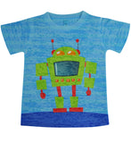 Boys Robot Tee - Stella Blu Clothing
