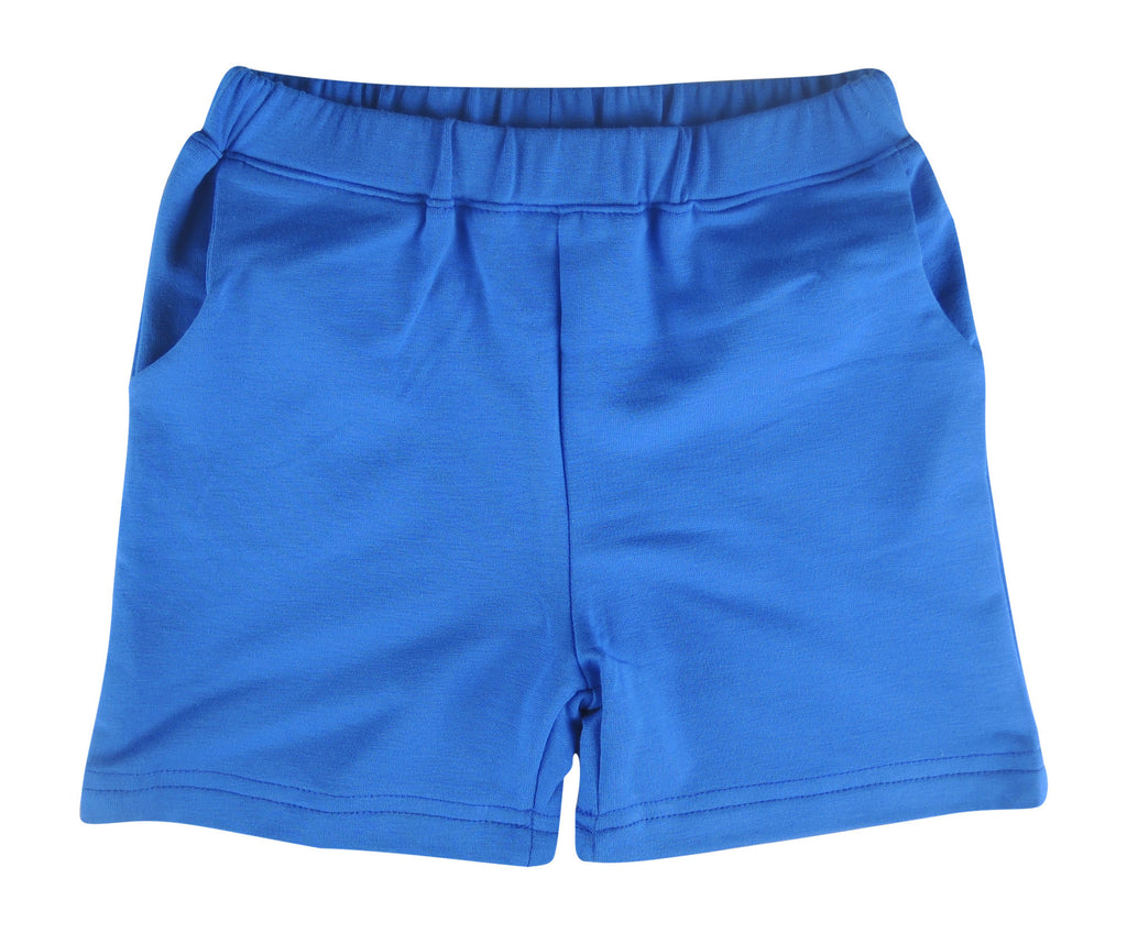 Lulu & Jude Basic Bamboo Short (Royal Blue) - Stella Blu Clothing