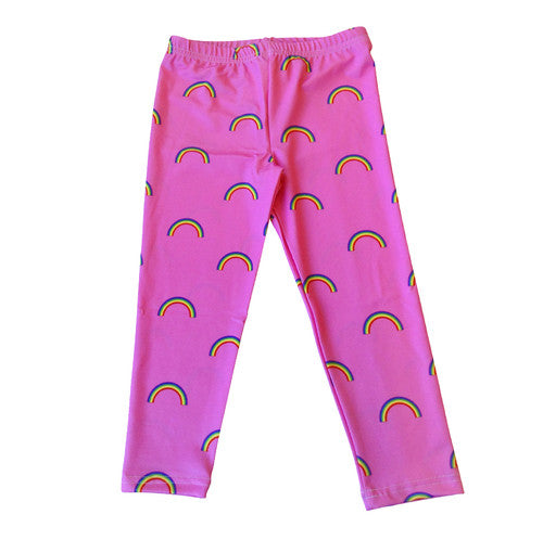 Pink Rainbow Legging - Stella Blu Clothing