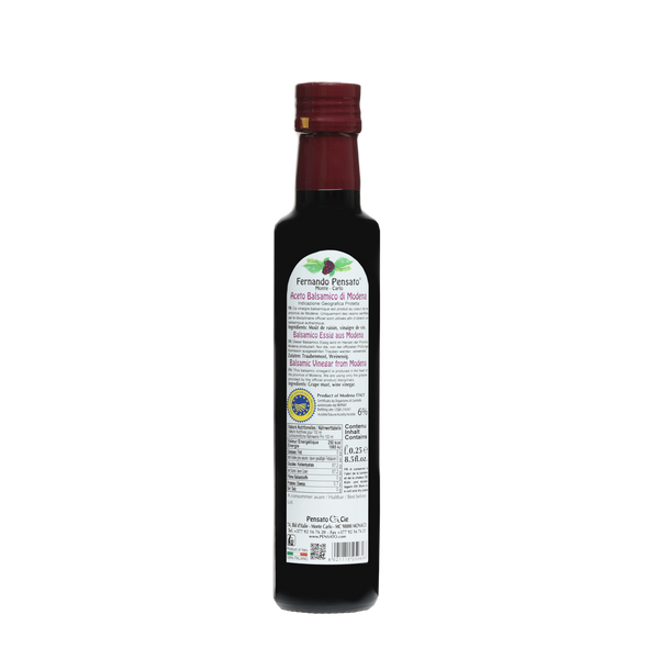 Balsamic Vinegar Modena - 250ml (8.5 Oz)