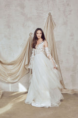 3D wedding dress