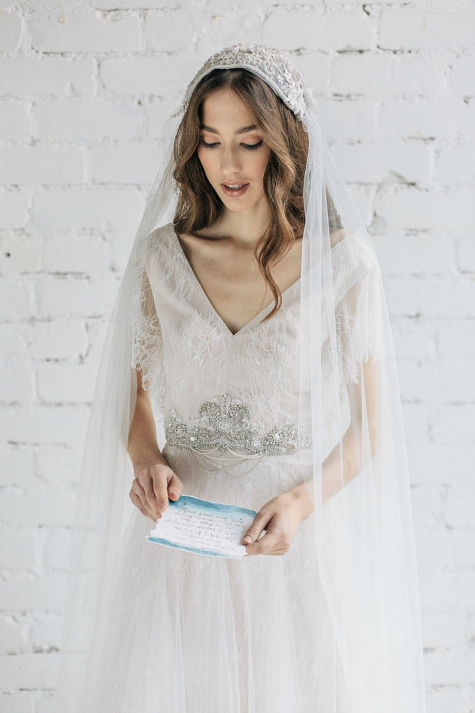 Bridal Juliet Veil