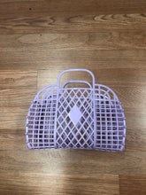 Load image into Gallery viewer, Mini Retro Jelly Basket Lilac