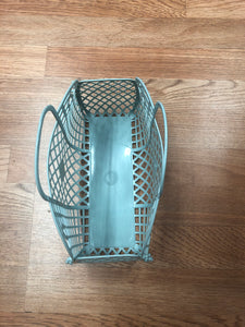Mini Retro Jelly Basket Mint green