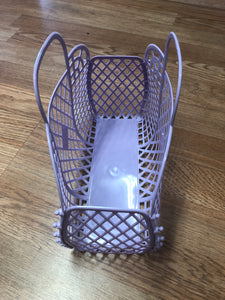 Mini Retro Jelly Basket Lilac