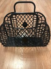 Load image into Gallery viewer, Retro Jelly Basket Large Black