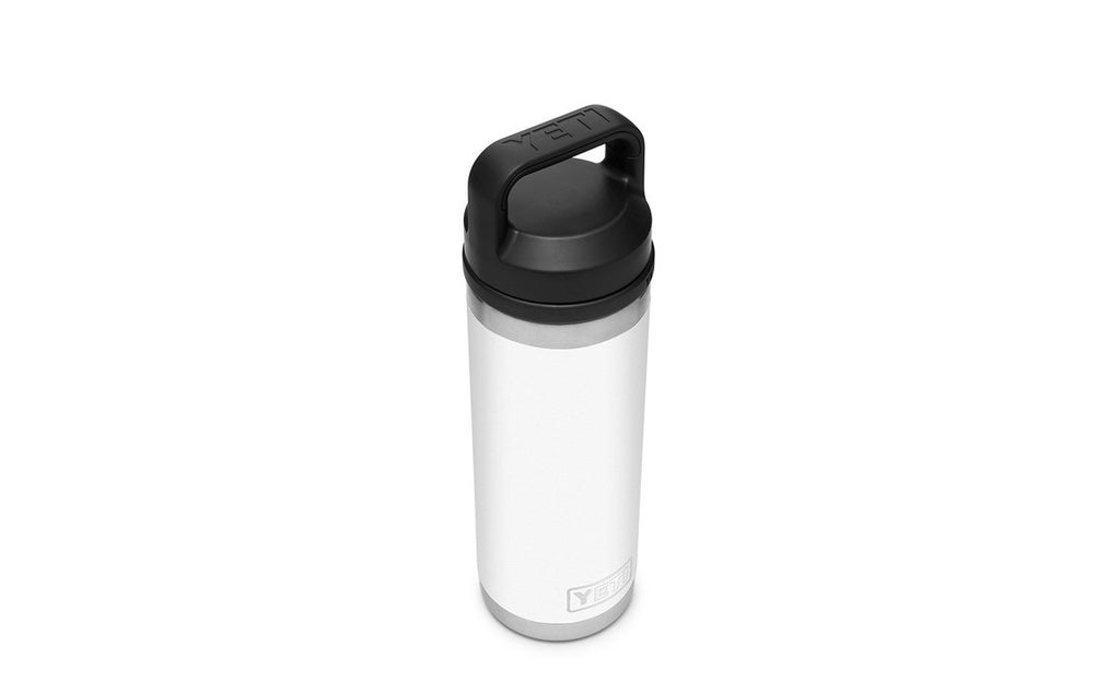 YETI Rambler Bottle With Chug Cap 18oz - White