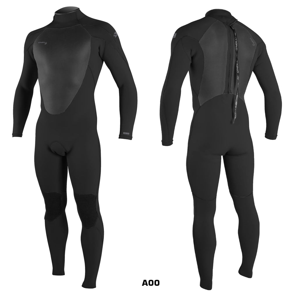 O'Neill Epic 5/4 Back Zip Blk/Blk/Blk