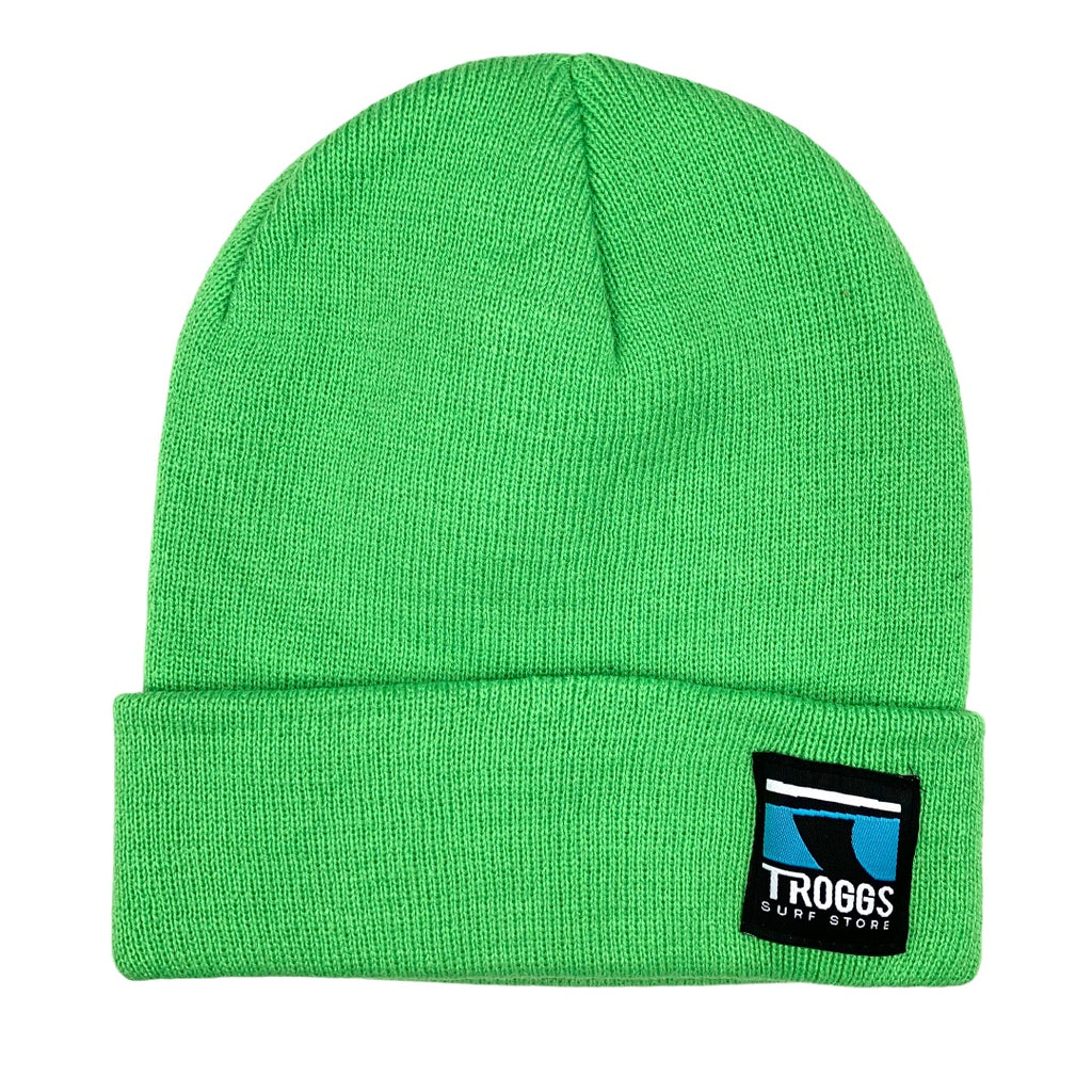 Troggs Cuff Beanie Apple Green