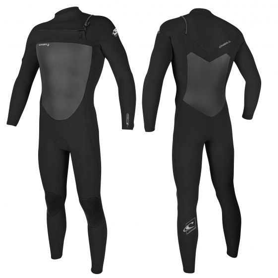 O'Neill Epic 5/4 Chest-Zip - Black