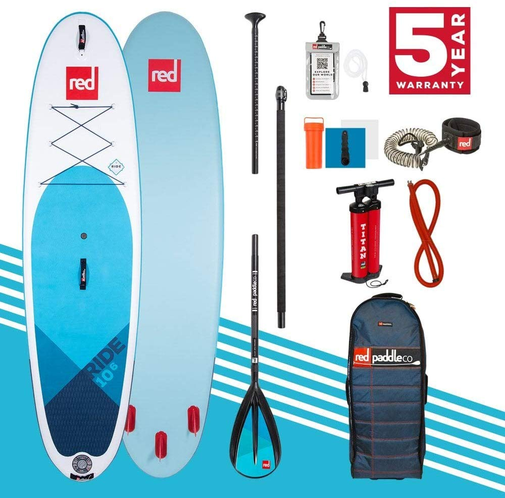 2020 Red Paddle Co 10'6 RIDE PACKAGE Alloy 3pc