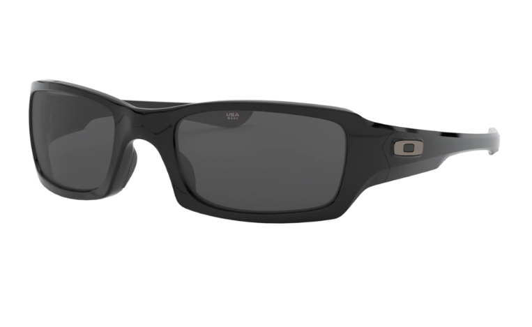 Oakley Fives Squared Polished Black w/ Grey