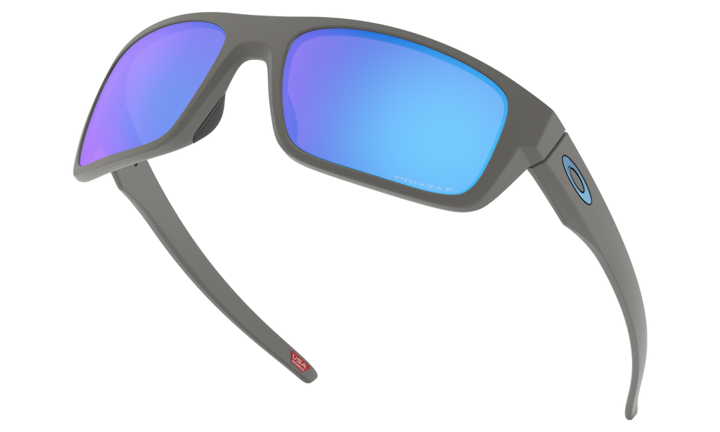 Oakley Drop Point Matt Dark Grey w/PRIZM Sapphire Polarized