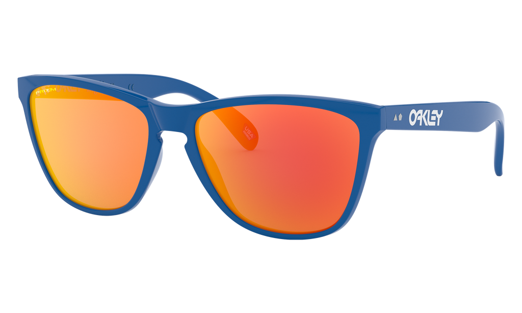 Oakley Frogskins 35th Prim Blue w/ PRIZM Ruby