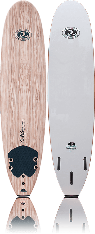 CBC 9' Softboard - White - Teal