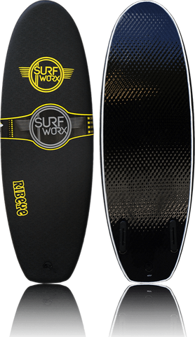 SURFWORX RIBEYE GRUB (colour black) (size 4ft 10)