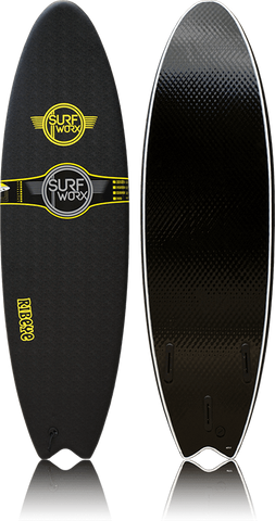 SURFWORX RIBEYE HYBRID (colour black) (size 6 ft 04)