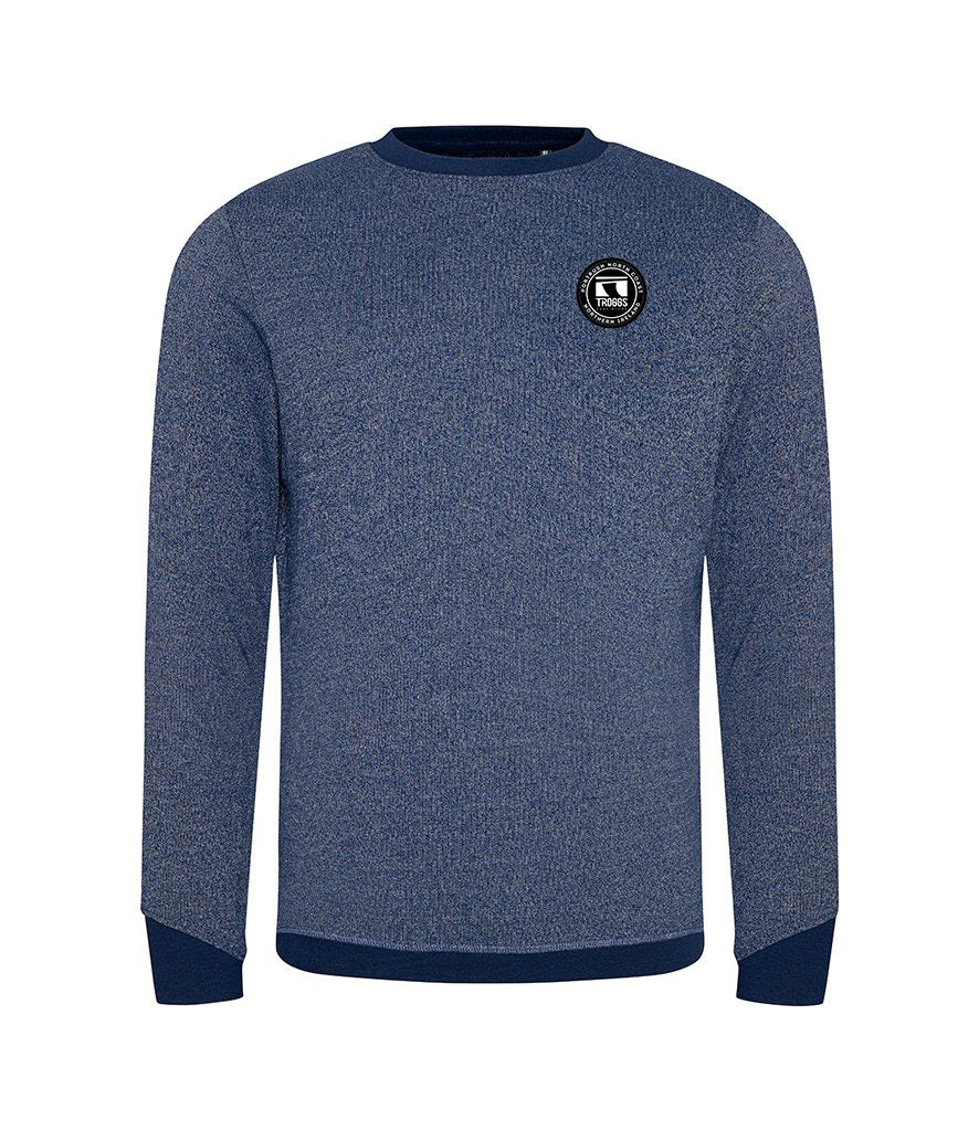 Troggs Eco Patch Sweatshirt Blue /White