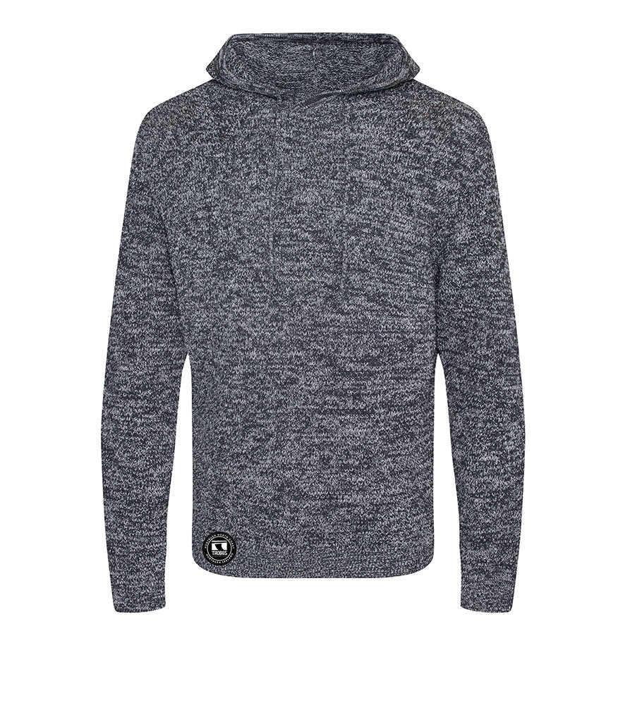 Troggs Eco Hoodie Heather Grey /Charcoal