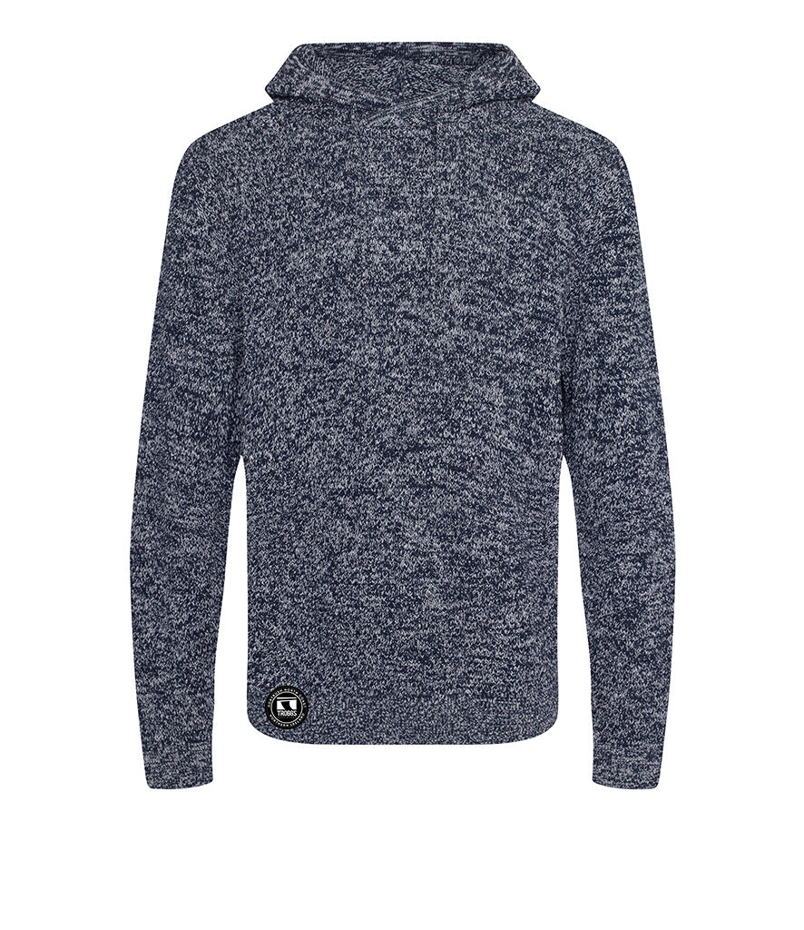 Troggs Eco Hoodie Navy /Charcoal