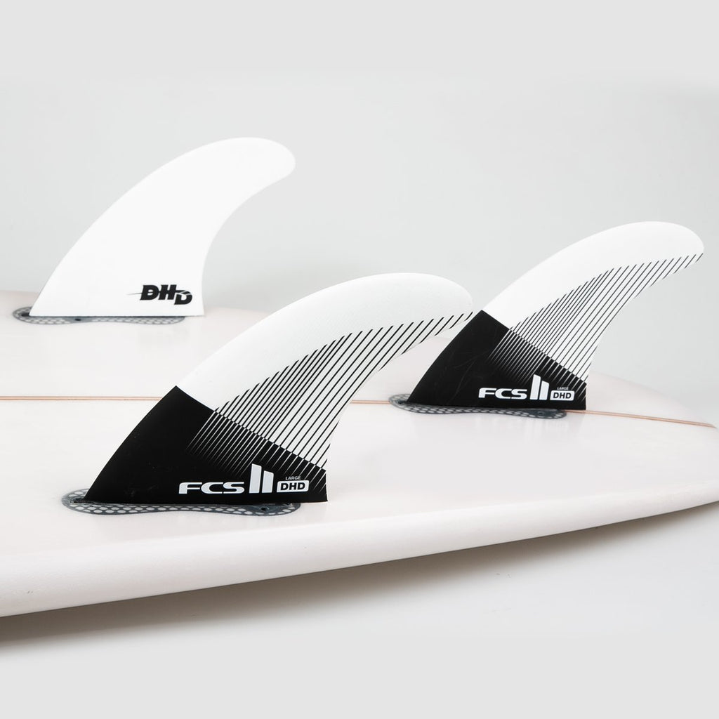 FCS II DHD PC Large Tri Fins