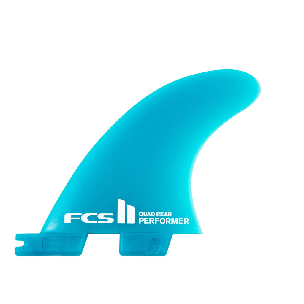 FCS II Performer Neo Glass Medium Teal Gradient Quad Fin
