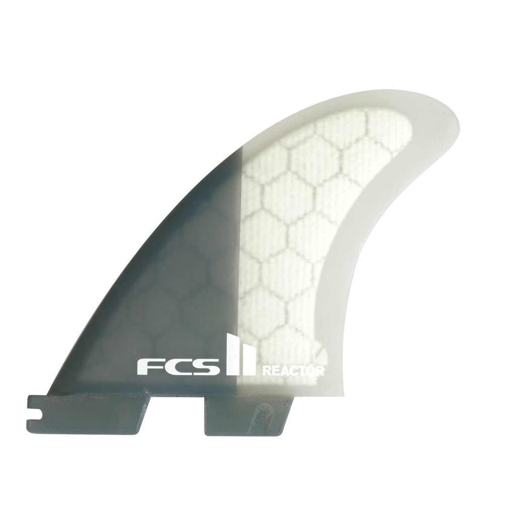 FCS II Reactor PC Charcoal Medium Tri Fins
