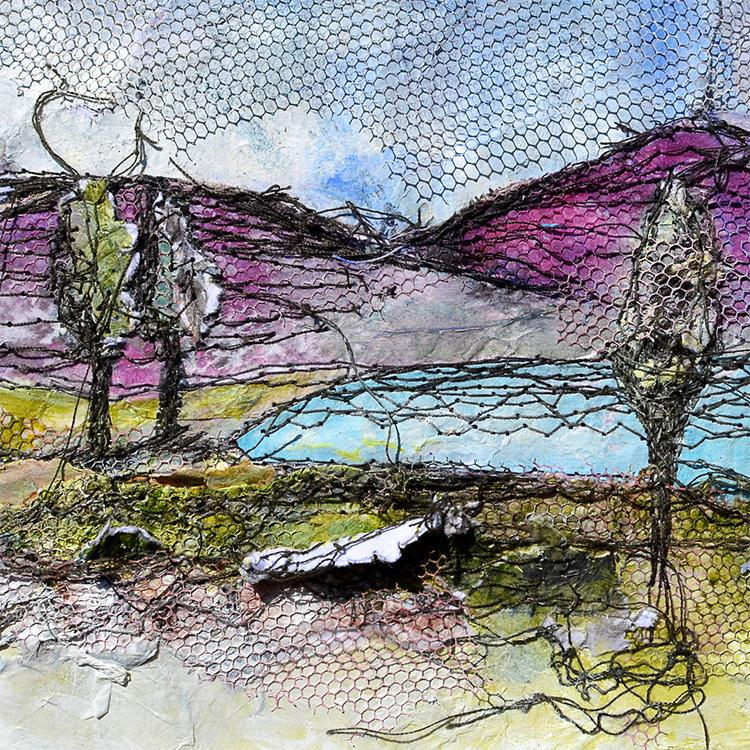 'IRISH LANDSCAPE LAKE' PRINT