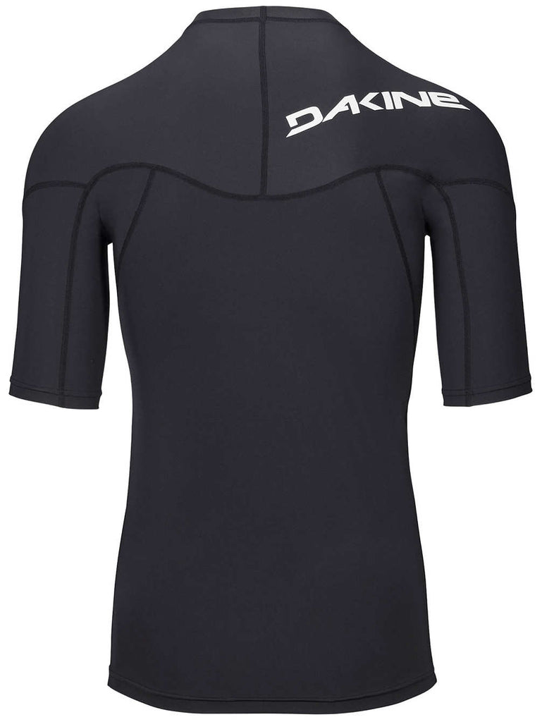 Dakine Heavy Duty Snug Fit S/S Rash Vest - Black