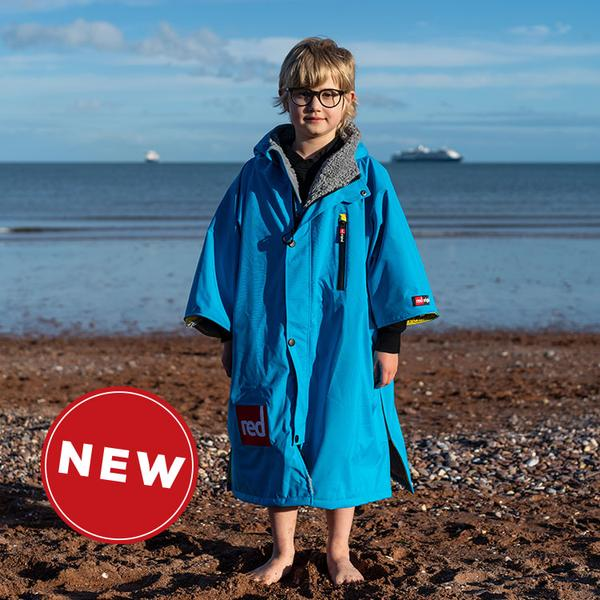 Red Paddle Co Pro Change Jacket Kids S/S Blue