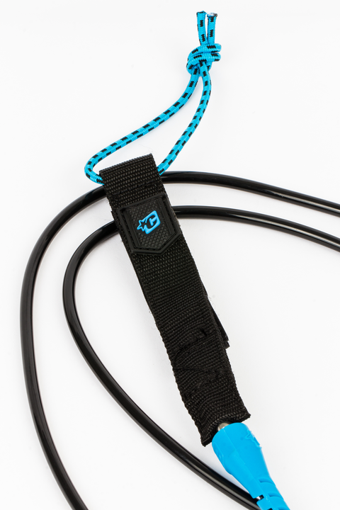 Creatures of Leisure 6'0 Pro Leash - Cyan