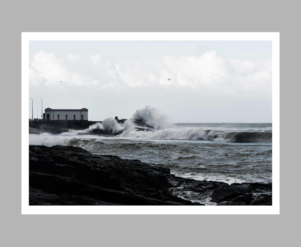 'Old Lifeboat Shelter' Print