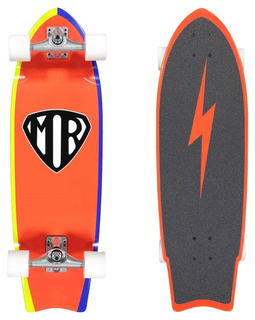 MR SUPER  (RED) Skateboard