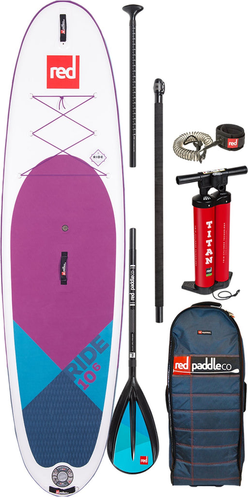 2020 Red Paddle Co 10'6 PURPLE RIDE PACKAGE Alloy 3pc
