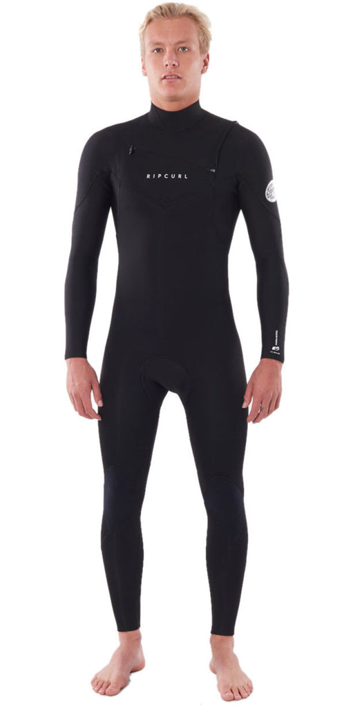 Ripcurl Dawn Patrol 5/3 Chest-Zip - Black