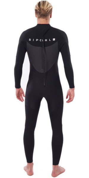 Ripcurl Omega 5/3 Back-Zip Wetsuit - Black
