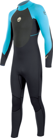 Alder Stealth Junior 5.4.3mm Winter Wetsuit Turquoise